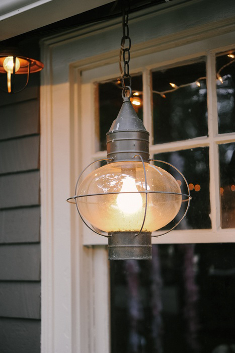 vintage storm lantern light