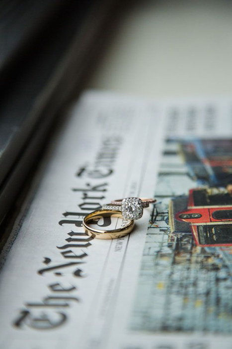 New York Times ring shot