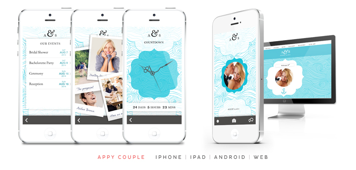 Appy Couple wedding app and website