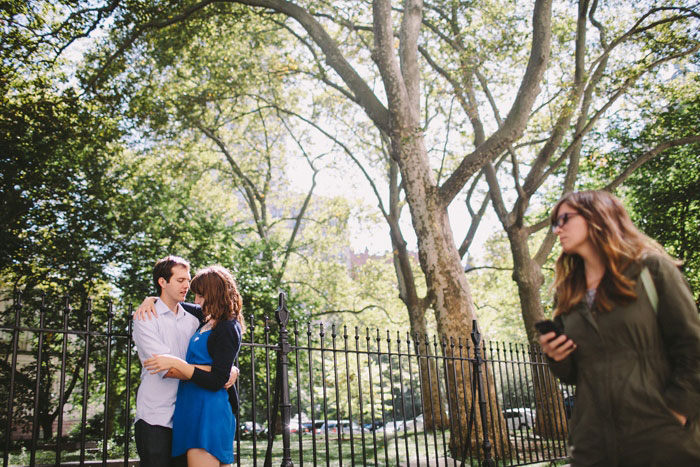 NYC Park elopement photo