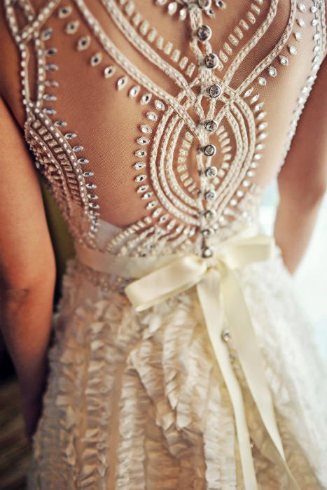 All about the Back: Wedding Dress Details