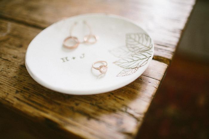monogrammed ring bowl