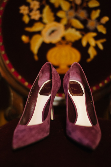 purple suede wedding shoes