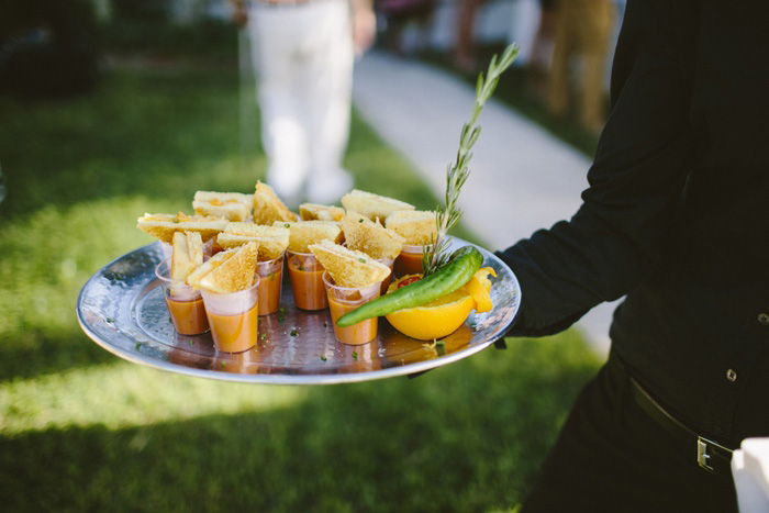 mini grilled cheese wedding hors d'oeuvres