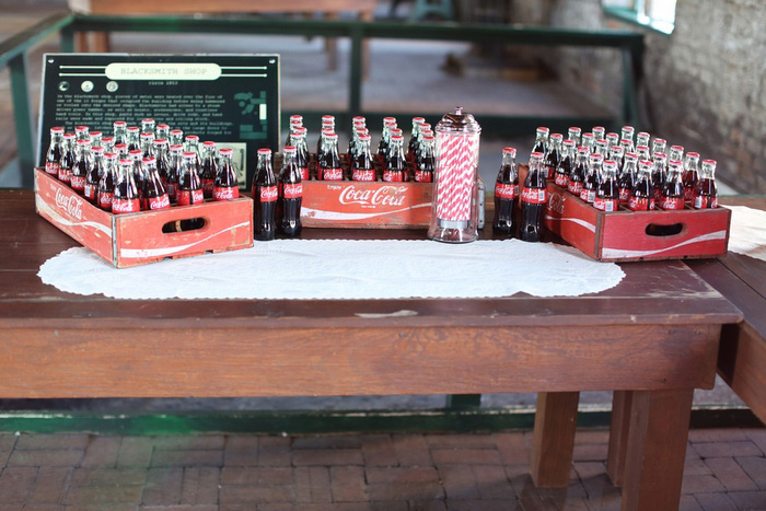 coca cola wedding favors