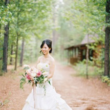 Intimate Texas Wedding Venue - Retreat in the Pines - Bride