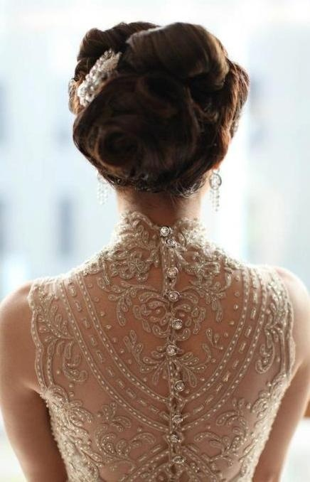 back wedding dress