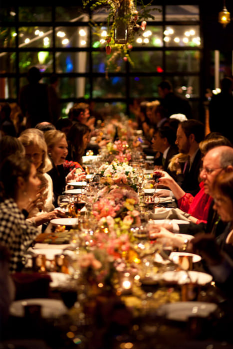 Family Style Reception Dinner