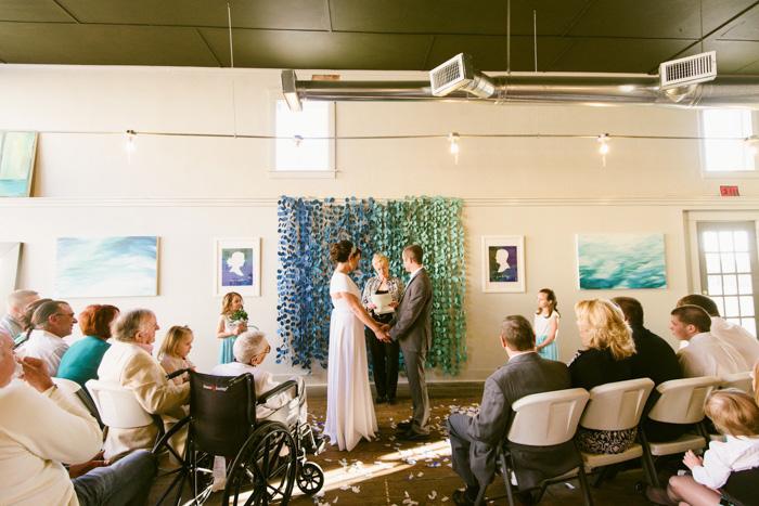 shop wedding ceremony