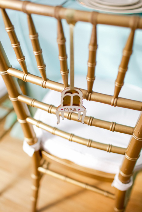 wedding chair ornament