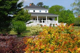 North Carolina Intimate Wedding Venue - Hudson Manor gardens