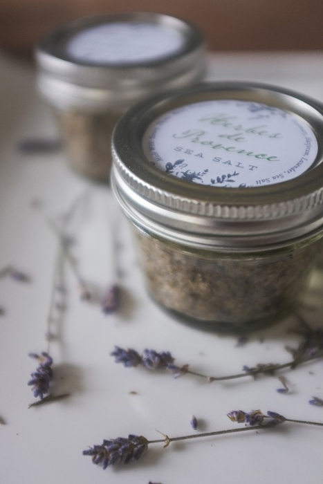 lavender salt favors