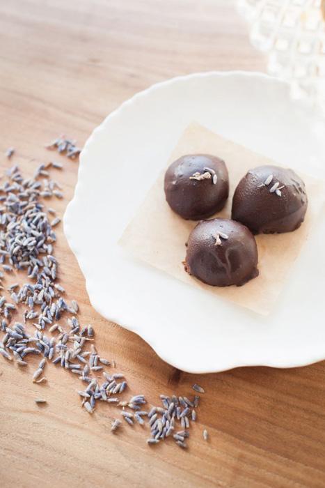 lavender truffles