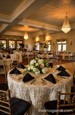 Grand Ballroom at the Hudson Manor - Intimate Weddings in Louisburg NC