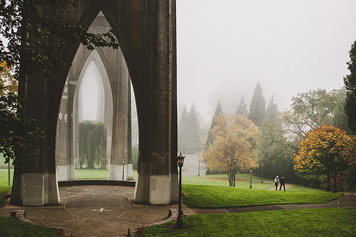 Cathedral Park elopement