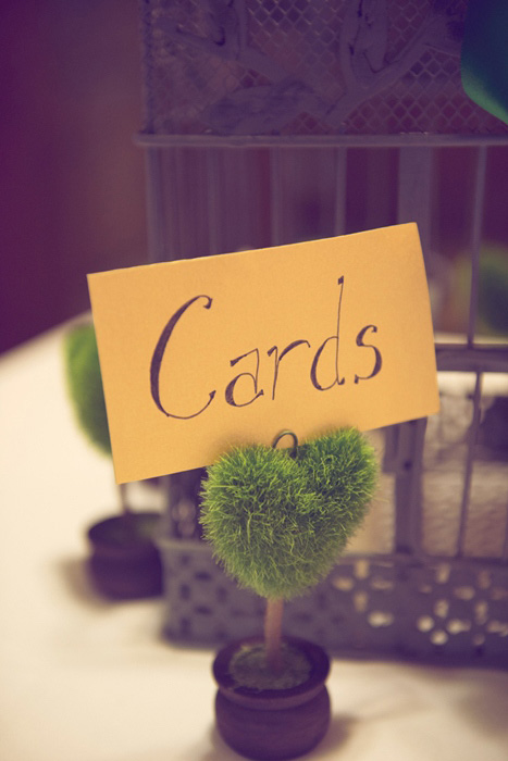moss card table sign