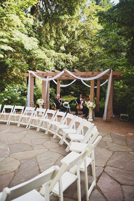 botanical gardens wedding ceremony venue