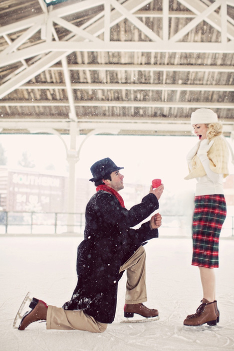 vintage skating proposal