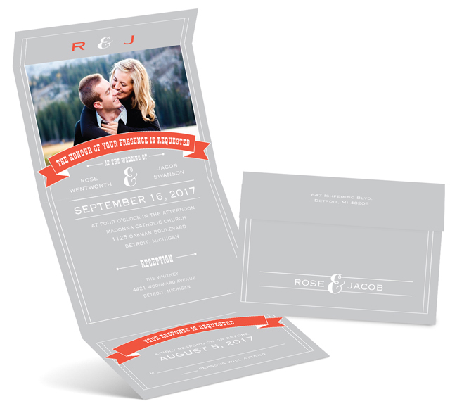 folding save the date