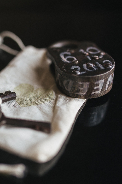 dated padlock