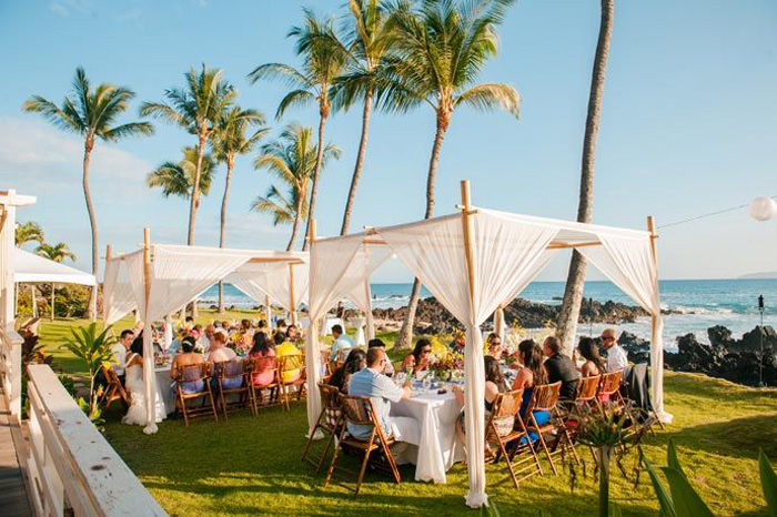 beach tent & 10 Chic Wedding Tent Styles