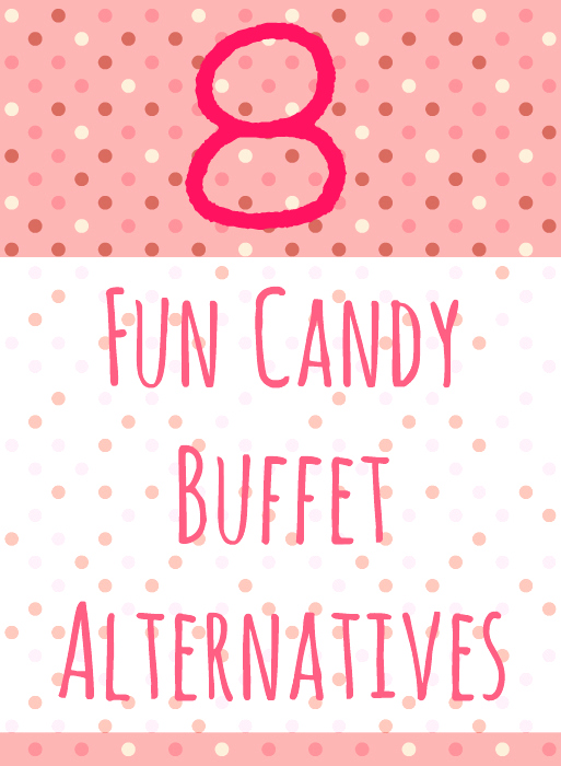 candy buffet alternatives
