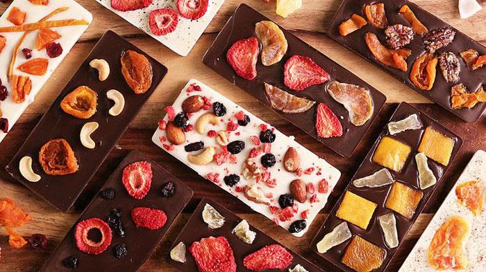 diy chocolate bars