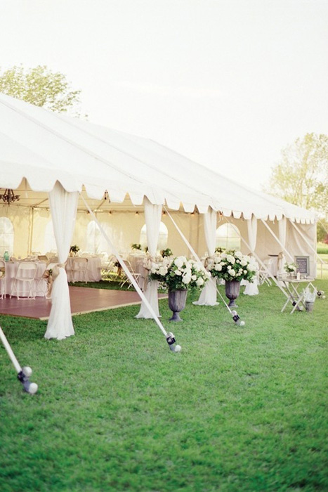 frame wedding tent