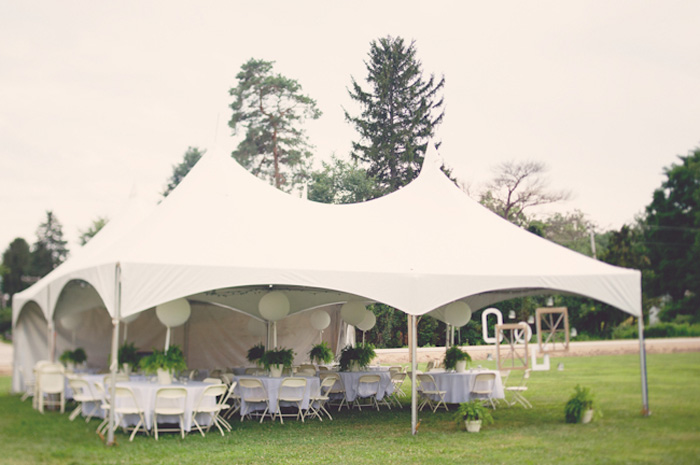 marquee tent & 10 Chic Wedding Tent Styles