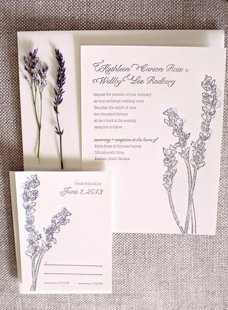 lavender garden wedding style shoot