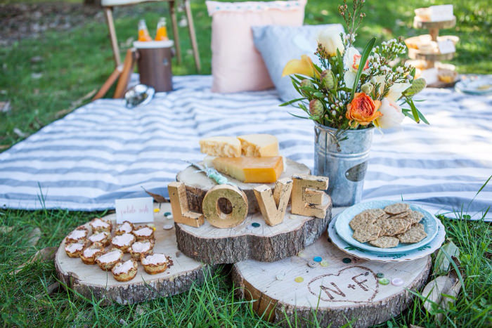 You Will Not Find Any Limp Sandwiches Here So Get Creative With Your Picnic Menu A Dessert Only Reception Is Ideal For Vintage Inspired