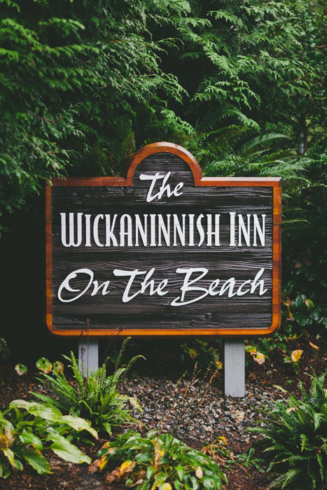 Wickaninnish inn sign