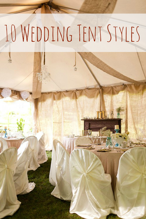 wedding tent styles : wedding in tent - memphite.com