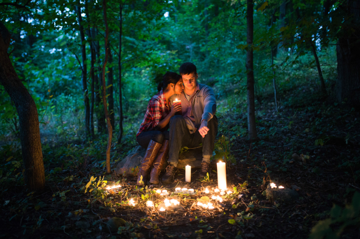 forest engagement shoot