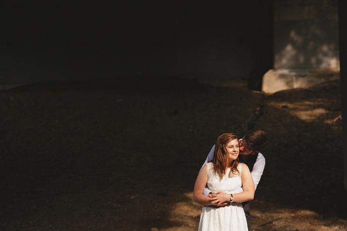 Intimate Edmonton Wedding