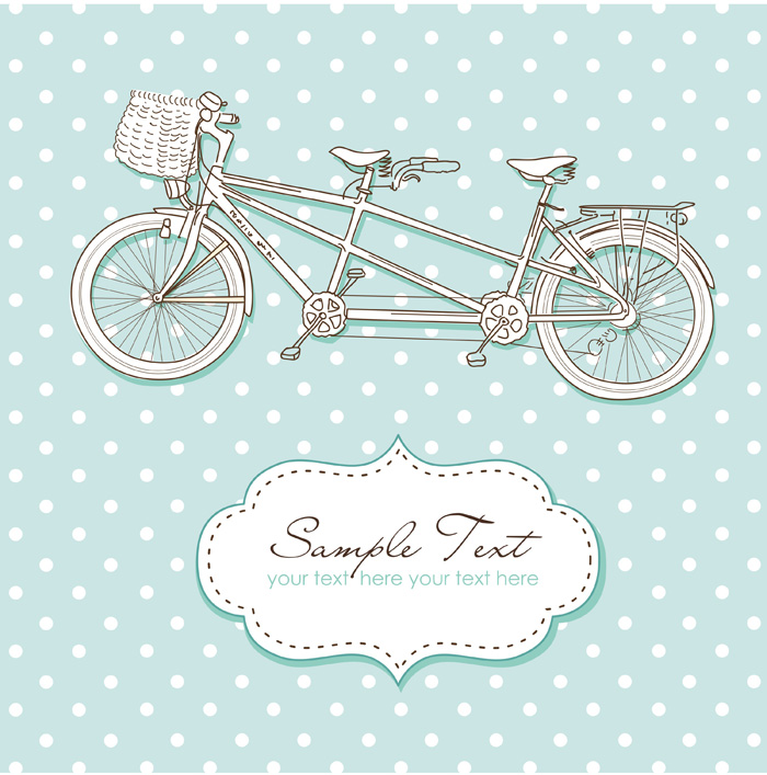 Graphicstock tandem bike