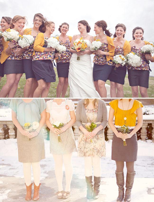 bridesmaids skirts