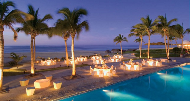 dreams los cabos beach reception