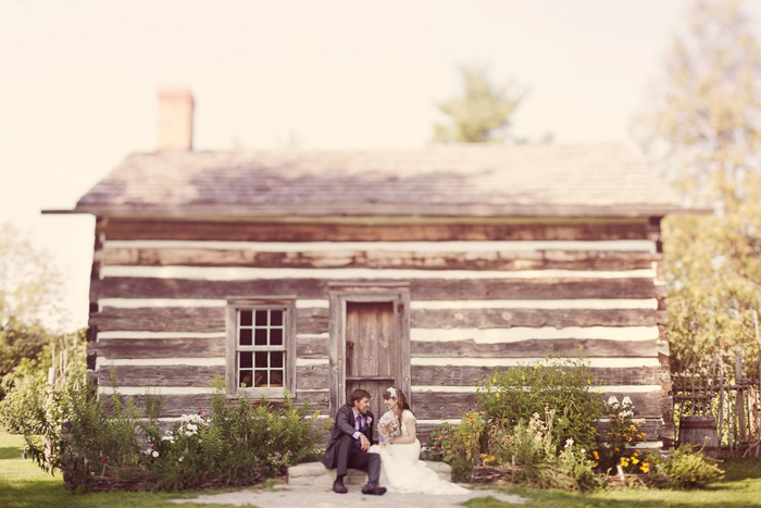 Intimate Ontario wedding