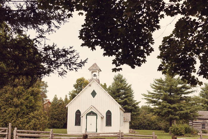white country chapel