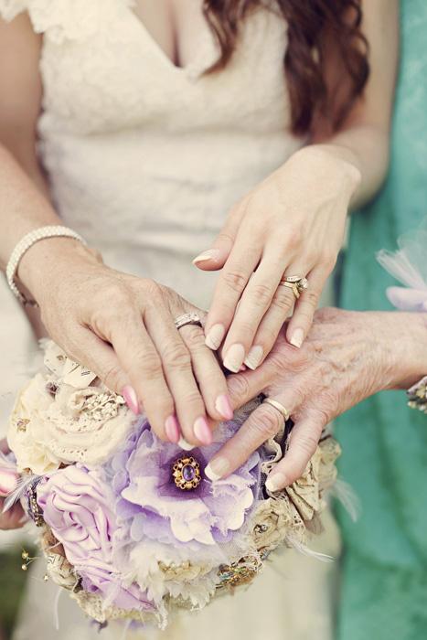 3 generations wedding rings