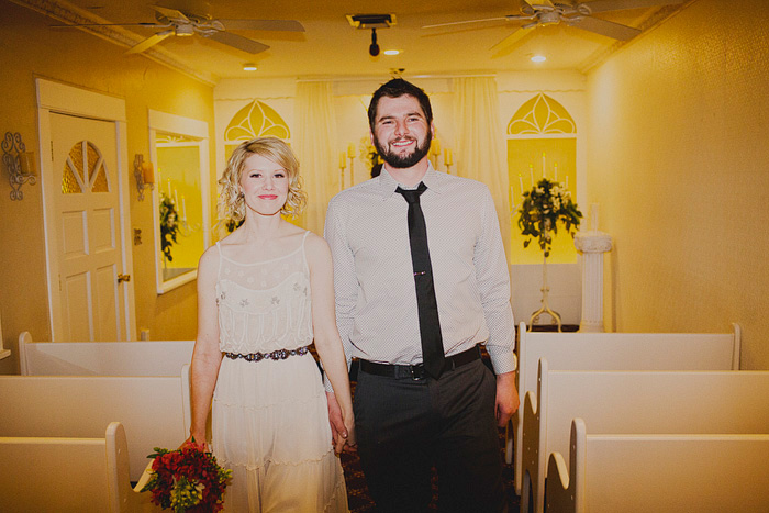Las Vegas wedding chapel elopement