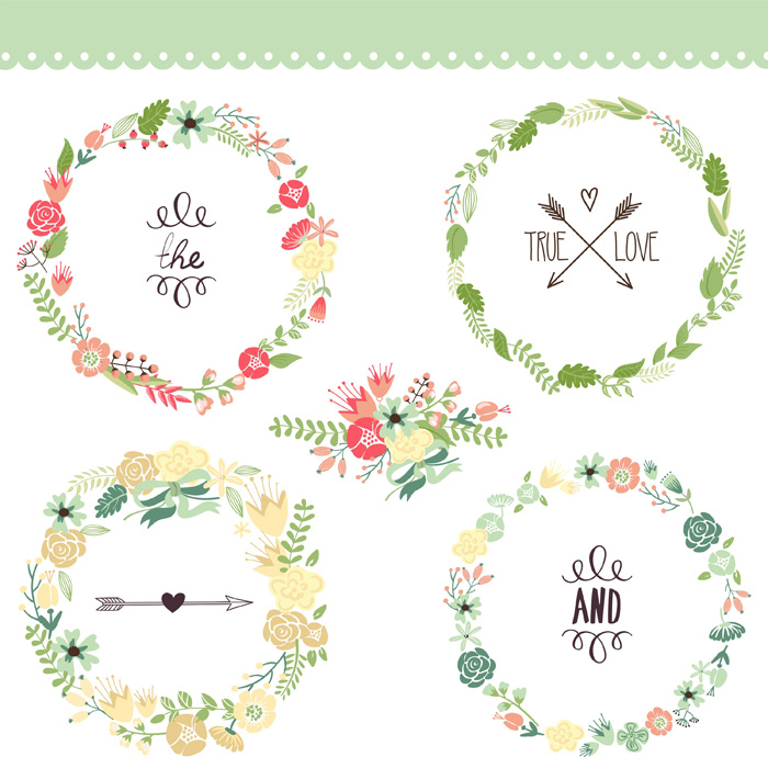 Graphicstock wreaths