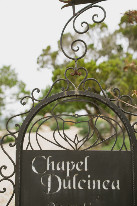Chapel Dulcinea iron sign