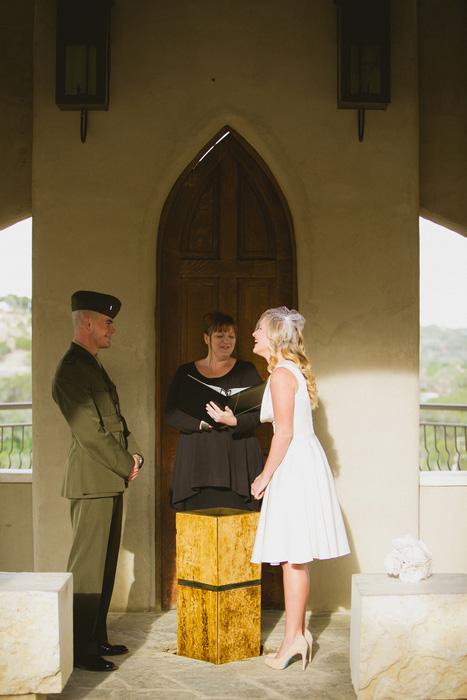 Chapel Dulcinea elopement