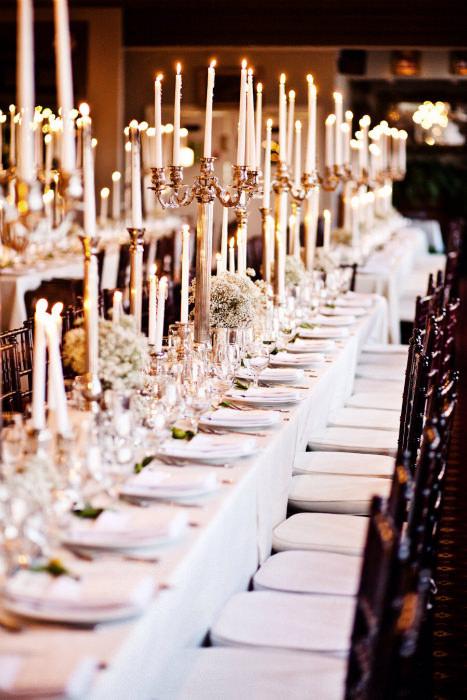 Không gian tiệc cưới mang đậm phong cách thời kì Edwardian.