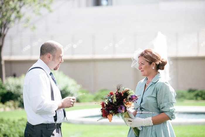Baha'i elopement ceremony