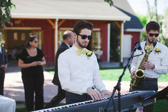 wedding keyboard player