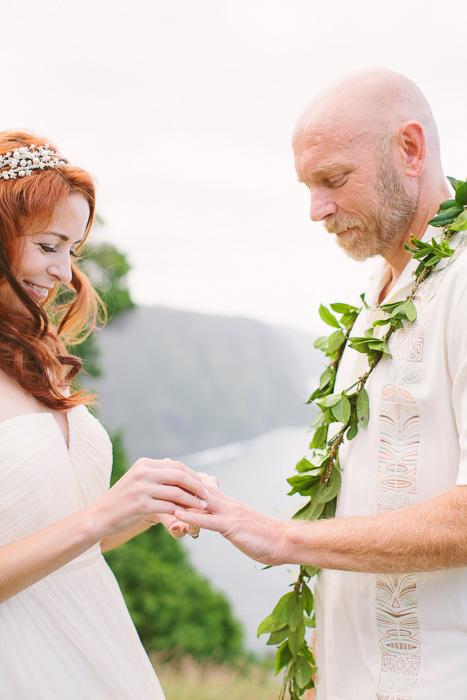 hawaii elopement ceremony