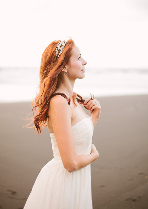 bridal portrait in Hawaii